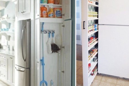 clever small space food storage ideas pictures to pin on