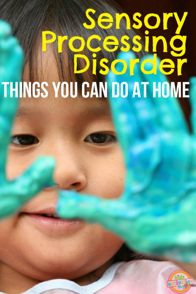 Sensory Processing Disorder Ideas at Home