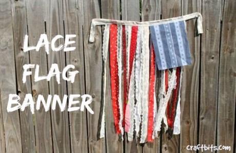 DIY 4th of July Flag Banner