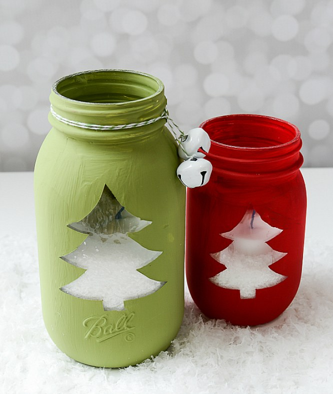 Christmas-Tree-Cut-Out-Mason-Jar-@-It-All-Started-With-Paint-2-of-10