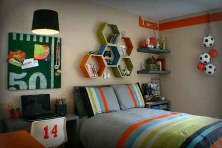 modern teen bedrooms based on boys hobbies 2
