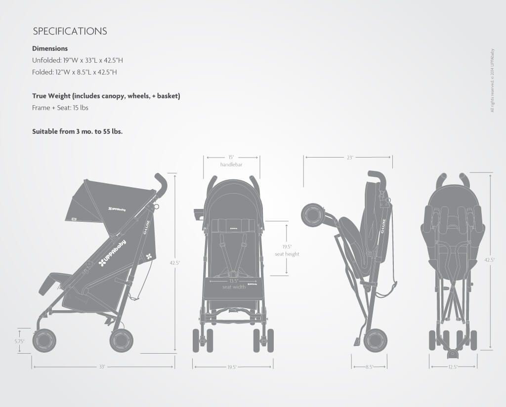 Prissy Dimensions Uppababy Kids Furniture Los Angeles Uppababy G Luxe Vs G Lite Uppababy G Luxe baby Uppababy G Luxe