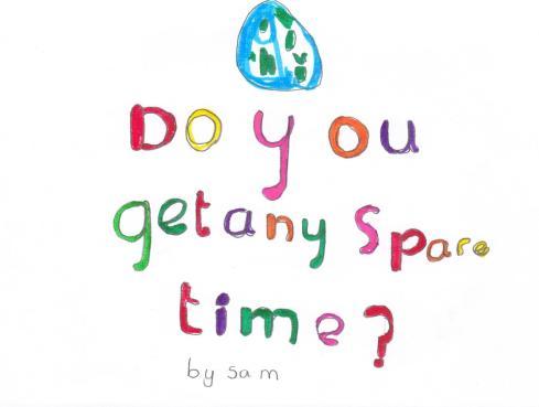 ¿Tienes tiempo libre?