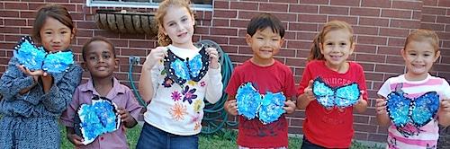 Morpho Butterfly Craft- Kid World Citizen