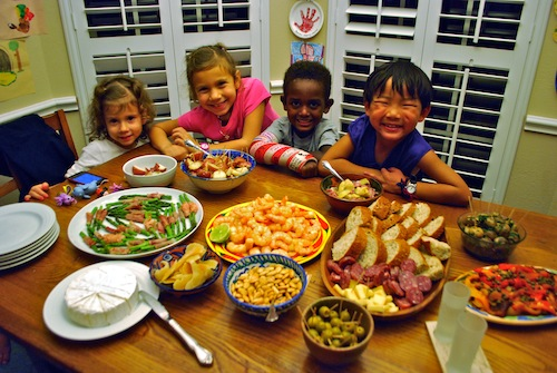 New Years Tapas- Kid World Citizen