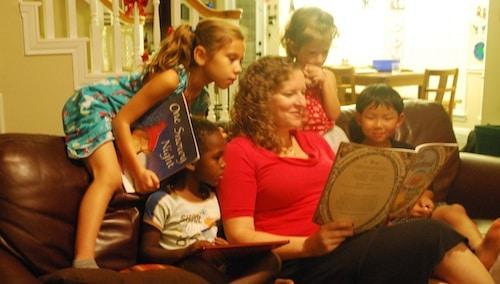 Reading Christmas Winter Books- Kid World Citizen