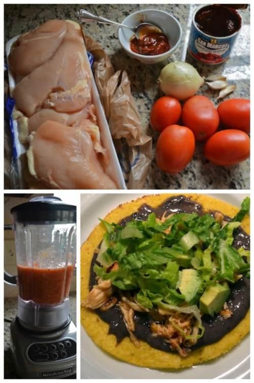 Mexican Chicken Tinga Recipe- Kid World Citizen