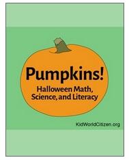 Pumpkin Math Halloween Science- Kid World Citizen