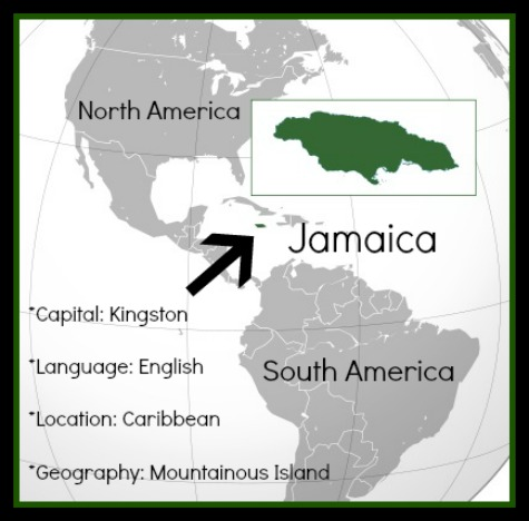 Jamaica Map Kids- Kid World Citizen