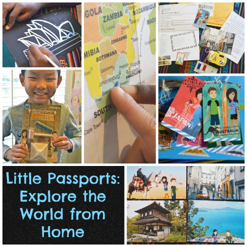 Little Passports Learn about the World- Kid World Citizen