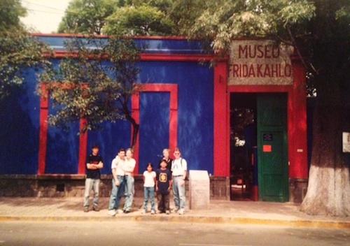 Frida Kahlo Blue House- Kid World Citizen