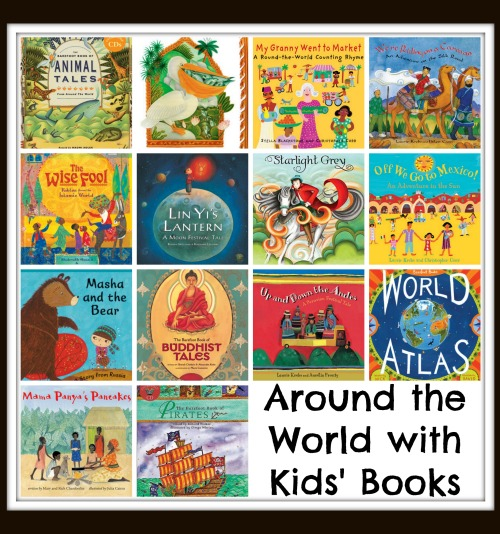 Around the World Kids Barefoot Books- Kid World CItizen