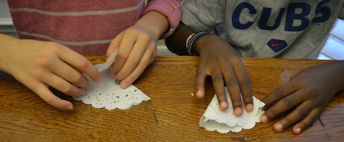 Kids DIY Angel Ornaments- Kid World Citizen