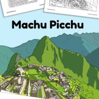 Learn about the Incas! Machu Picchu Reading and Activities
