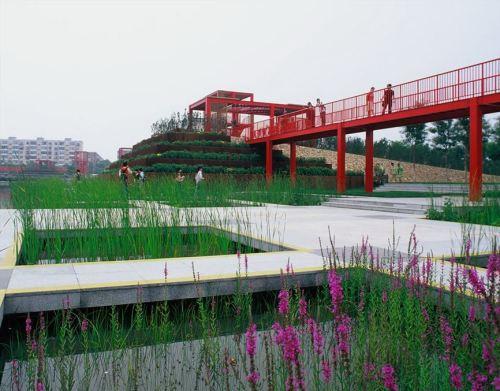 Chiêm ngưỡng khu vườn Thiên Tân tươi mát / Turenscape