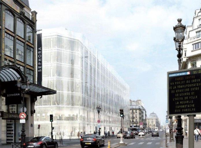 Kế hoạch thiết kế và xây dựng Trung tâm thương mại Samaritaine Paris / SANAA