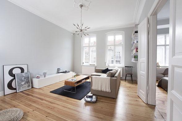 Một góc nội thất phòng khách - Phong cách tối thiểu đem tới một không gian nền cho người dùng thoải mái hơn trong việc sử dụng  đồ nội thất & trang trí.