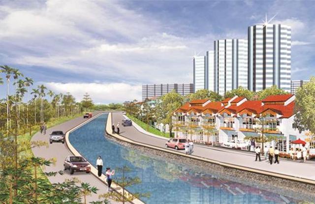 Tái tạo một đoạn phố cổ Hà Nội bên sông Tô