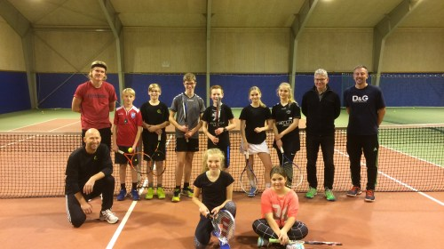 Junior tennistur til Holstebro