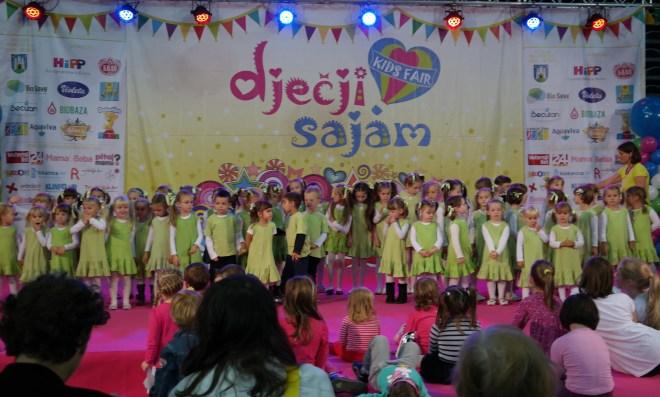 Kikići na Dječjem sajmu 2014.