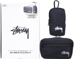 STUSSY 2017 FALL/HOLIDAY COLLECTION 《付録》 カラビナ付きマルチケースセット