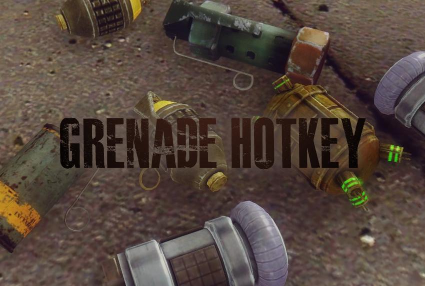 Grenade Hotkey