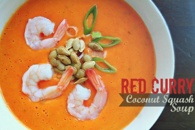 red curry coconut squash
