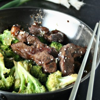 Soy and Garlic Beef and Broccoli