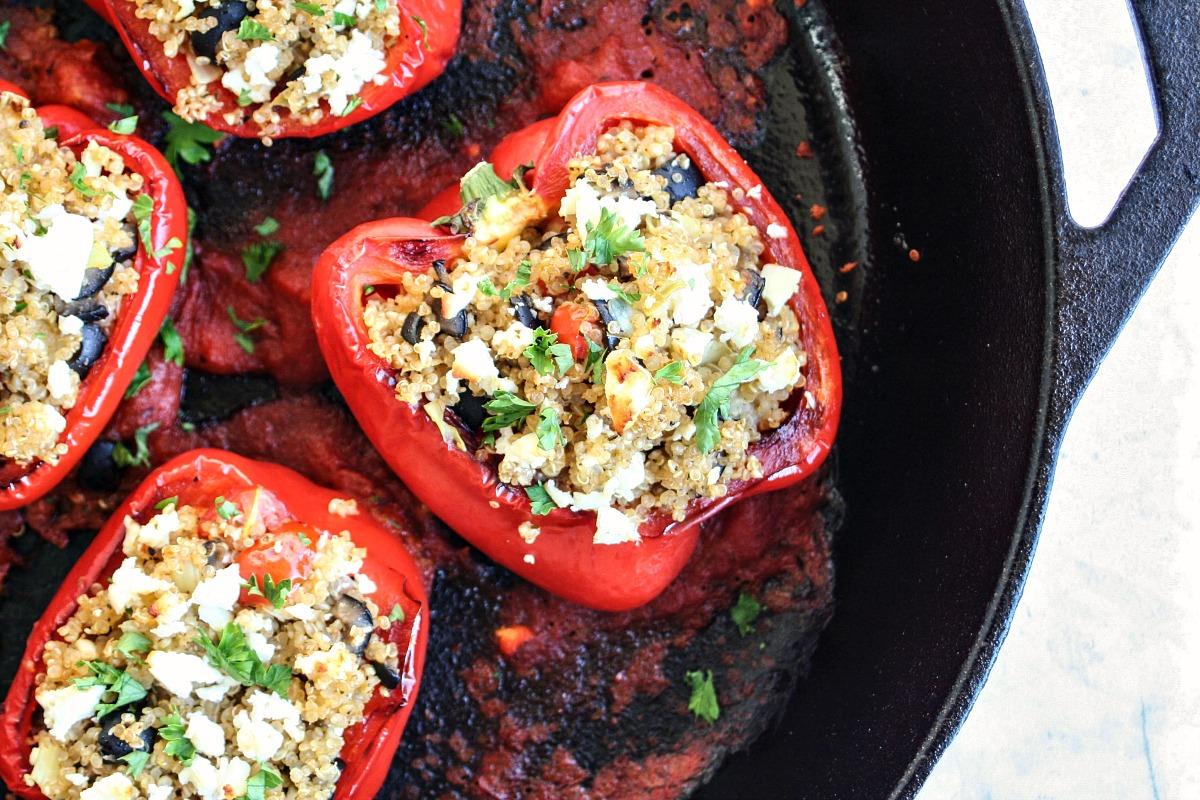 Best Quinoa Stuffed Peppers