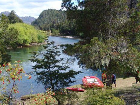 Rafting rio Corcovado - Chubut  (1)