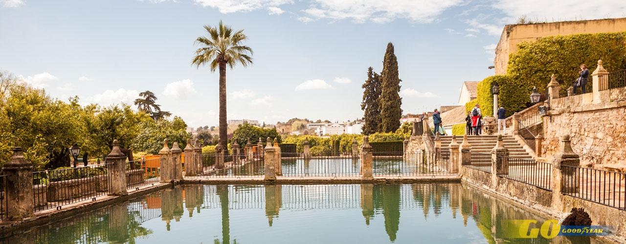 Estanque Alcazar de Córdoba