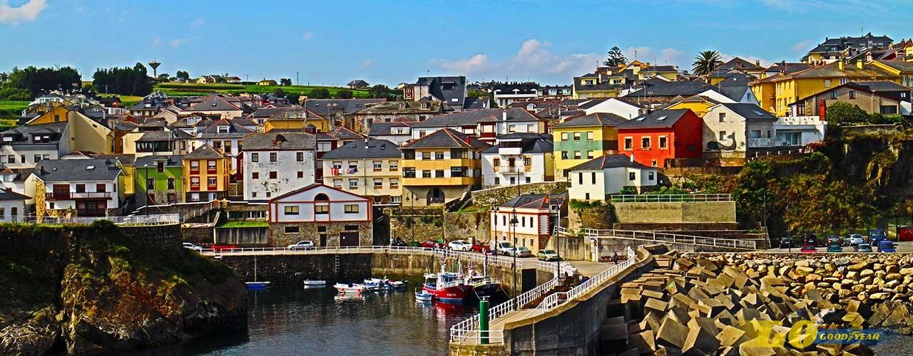 Puerto en Asturias