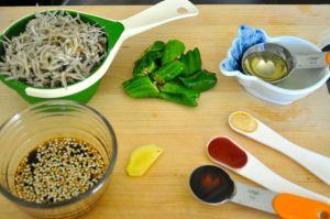 ingredients for myulchi bokkeum