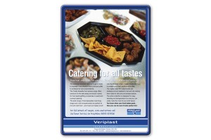 Veriplast - Catering for all tastes