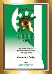 Certificate 2010-11