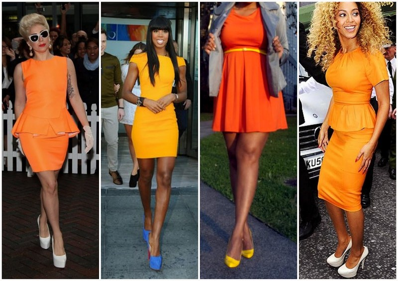 Large Of What Color Goes With Orange