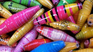 magazine beads craft