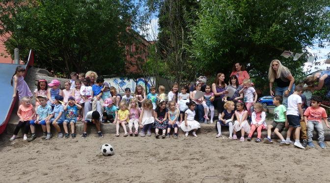 Sommerfest und Schulkinderverabschiedung