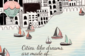 Cities, like dreams, are made of…