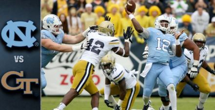 Georgia Tech vs UNC