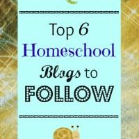 Top 6 Homeschool Blogs to Follow