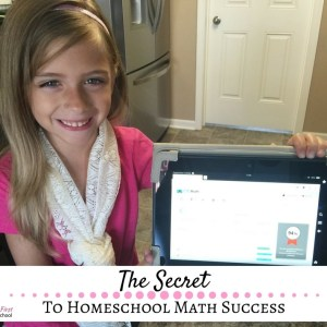 The Secret to Homeschool Math Success