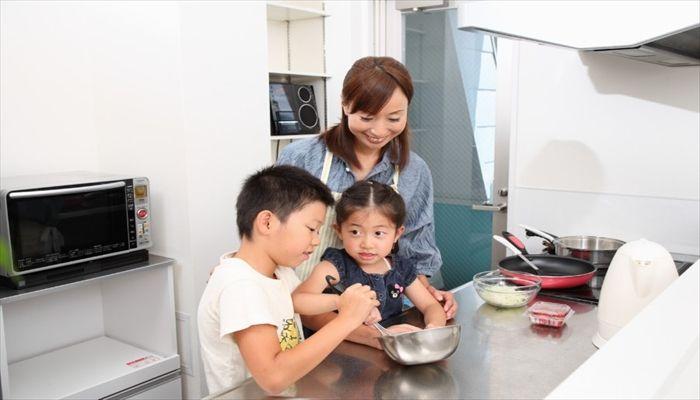 小学生 夏休みのお手伝い 我が家の食事の支度の例え