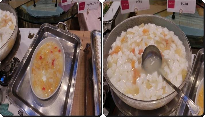 熱海 ニューフジヤホテル バイキング デザート 杏仁豆腐