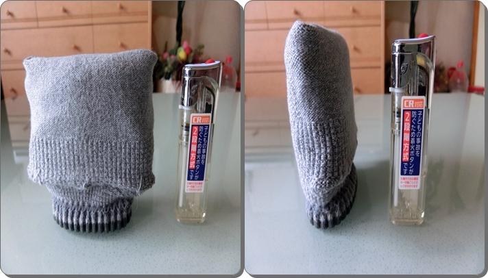 靴下 たたみ方 くるぶし サイズ