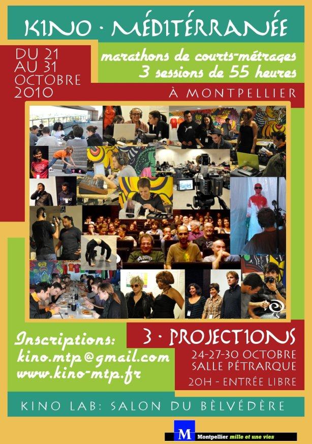 Affiche Montpellier KAB 2010