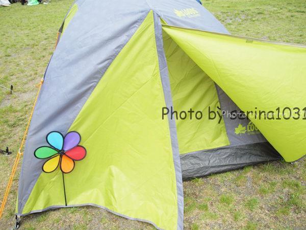 テント盗難防止鍵