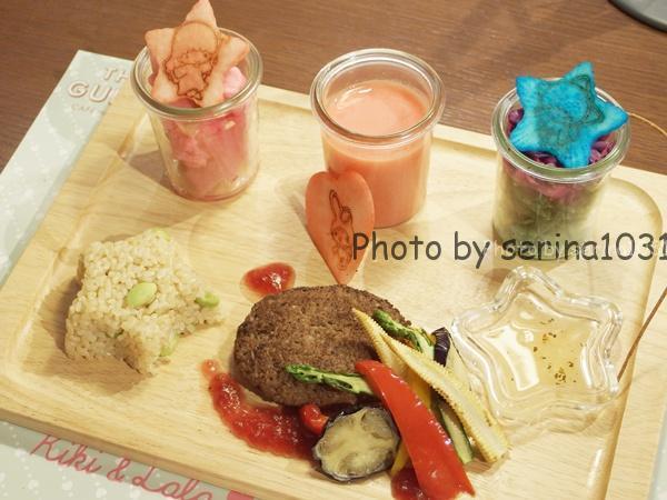 マイメロディ、ララと一緒に可愛くなろう♥野菜が20品目入ったビューティプレート