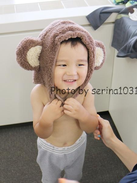 赤ちゃん用お猿さん着ぐるみ