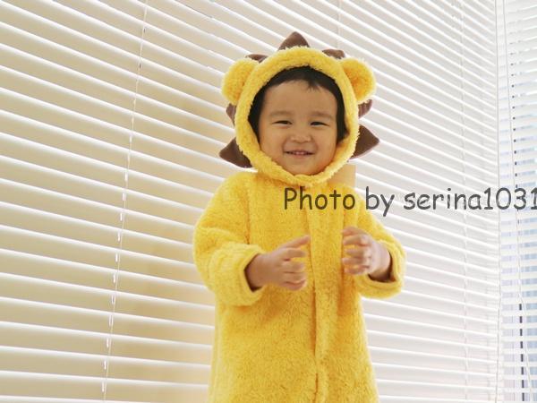 赤ちゃん用ライオン着ぐるみ